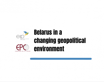 ONLINE EVENT: 'Belarus in a changing geopolitical environment'
