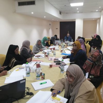 Yemen's Southern Women for Peace Group participate in Skills Enhancing Training